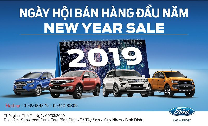 New year Sale xe o to Ford